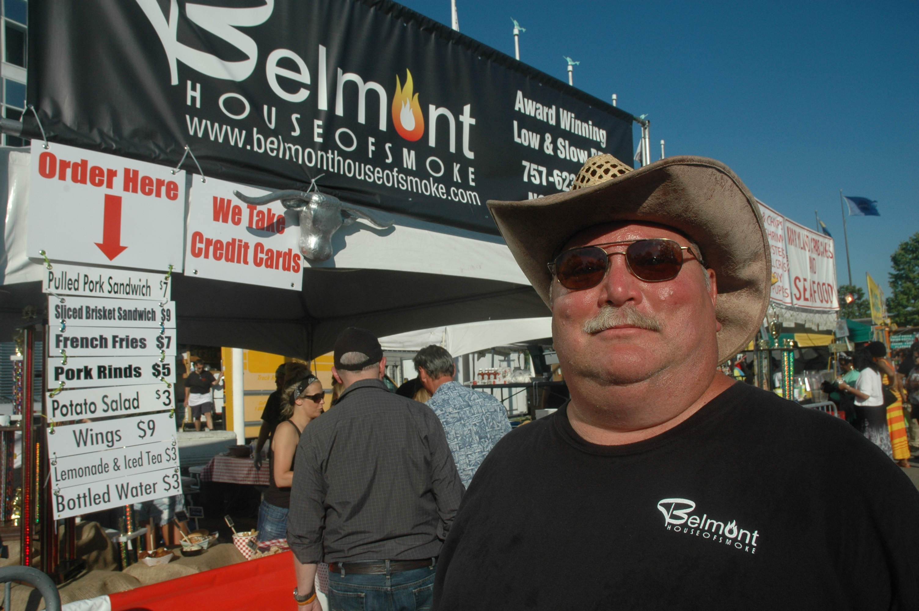 The King of BBQ: Belmont House of Smoke wins awards, hits the festival circuit