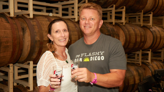 Lisa and Mike Hinkley of Green Flash
