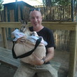 A close encounter with a baby kangaroo at Alabama Gulf Coast Zoo