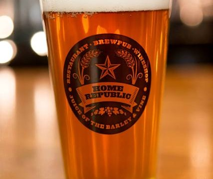 Galaxy Pale Ale brewed on-site and served in Home Republic's brewpub. (Courtesy of Home Republic)