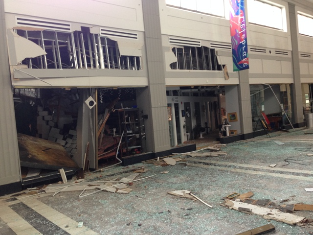 d'Art Center Rocked by Explosion
