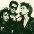 "(L-R)  John Ashton, Tim Butler, Richard Butler during the ""Midnight to Midnight"" era of Psychedelic Furs"
