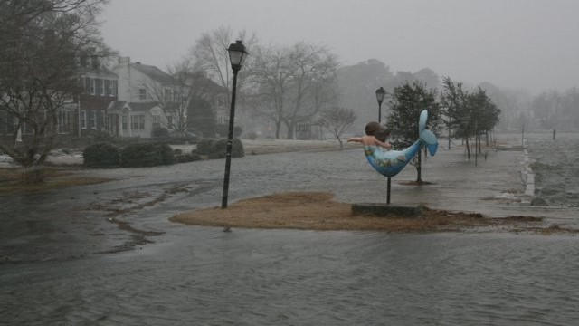 Colonial Place neighborhood, Norfolk, VA. Photo courtesy of Wetlands Watch