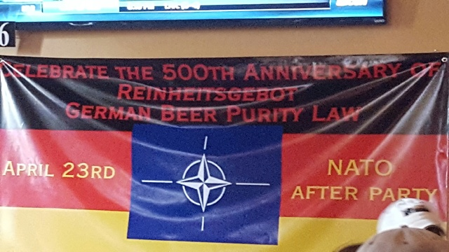 NATO Fest After Party Celebrates German Beer
