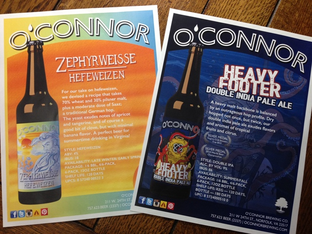 O'Connor Time: Stepping Out With a New Brew or Two