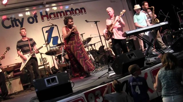 Jackie Scott & the Housewreckers perform June 1 as part of the Port Warwick series