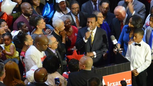 Kenny Alexander proclaims victory in Norfolk