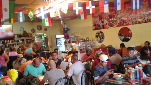 (A busy night at Los Cuates Taqueria.  Courtesy photo)