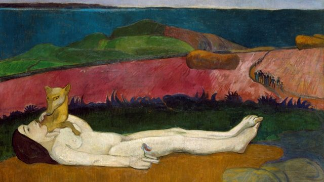 Paul Gauguin (French, 1848–1903) The Loss of Virginity, 1890–91 Oil on canvas Gift of Walter P. Chrysler, Jr.