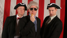 "Reduced Shakespeare Company stars in ""The Complete History of America (Abridged): Election Edition"" October 29 at the American Theatre"