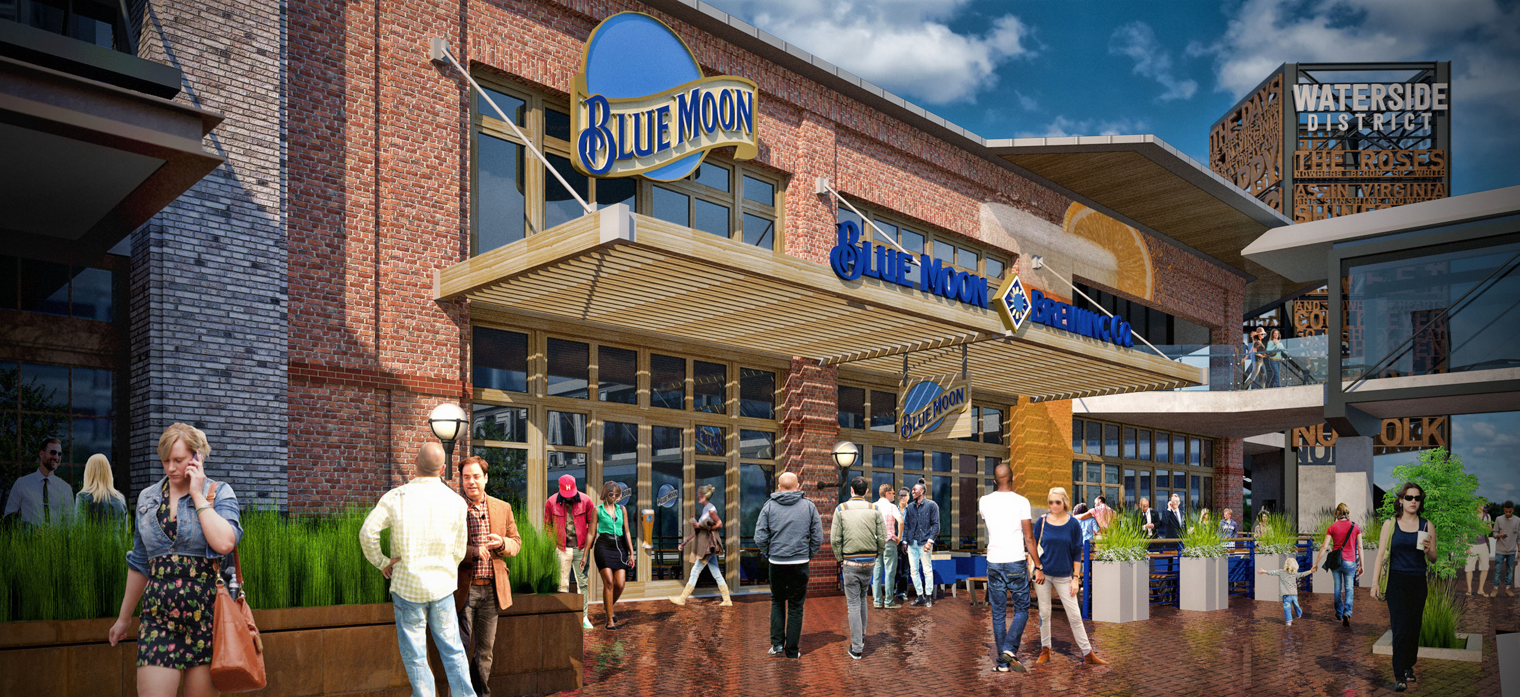 A Preview of Blue Moon Taproom in Norfolk