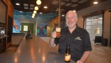 (Green Flash COO Chris Ross in the Virginia Beach tasting room)