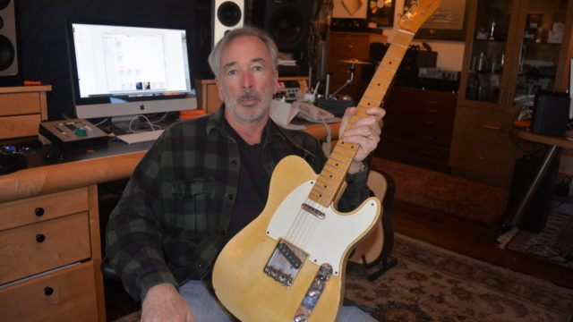 (Michael Marquart at his home studio in Virginia Beach)