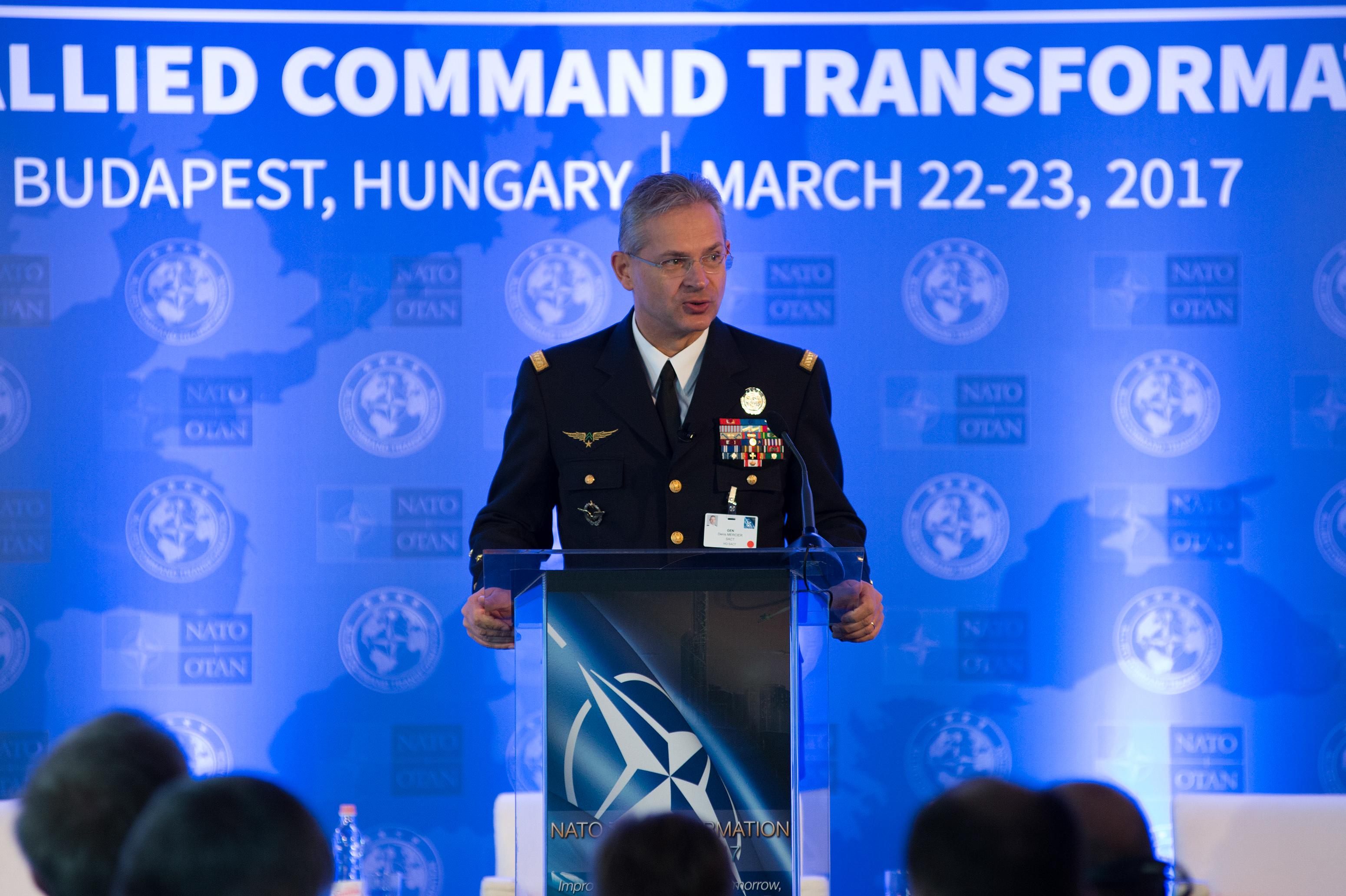 An Interview with General Denis Mercier, NATO Supreme Allied Commander Transformation