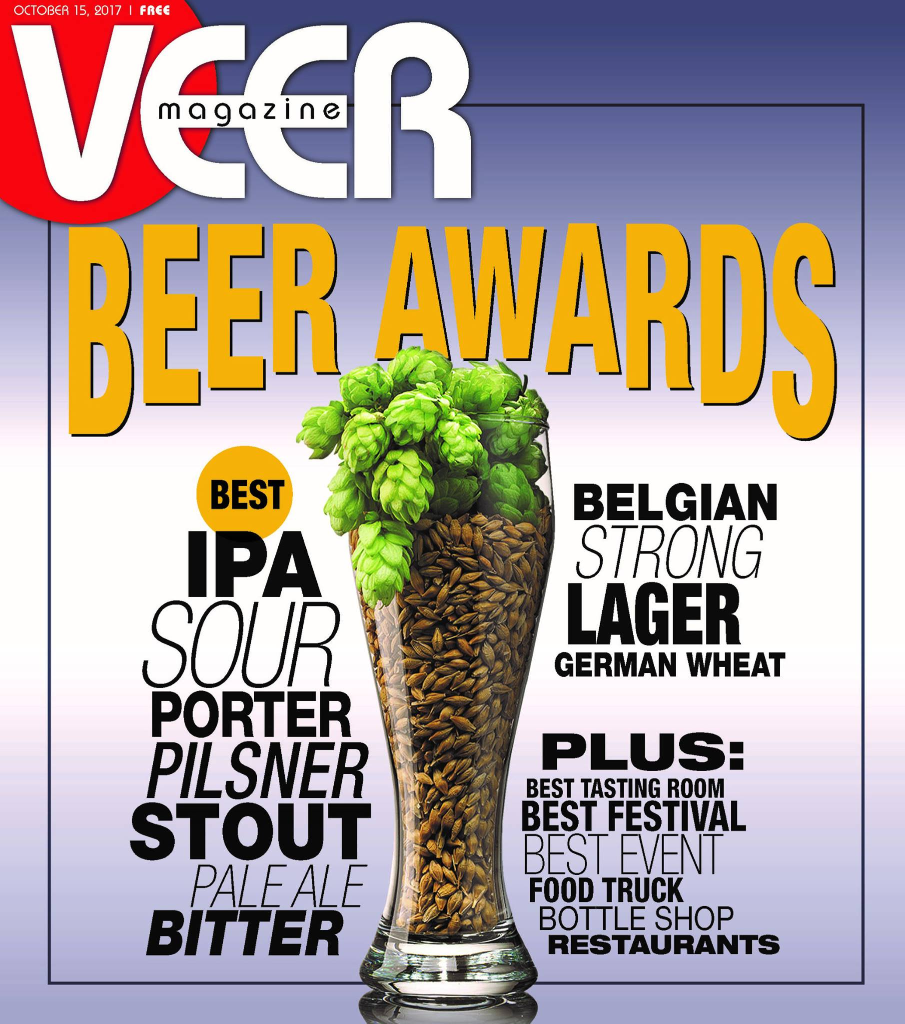 VEER's 2017 Golden Tap Local Beer Awards