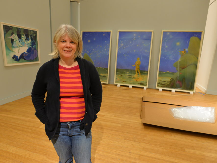 Essenhigh's Whimsical World Comes in MOCA