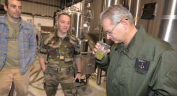 Lafayette Lager: Top NATO General collaborates with Bold Mariner on symbolic beer
