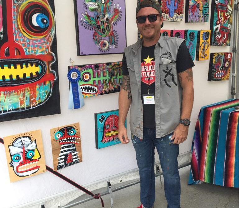Ranked 3rd in USA: Virginia Beach Neptune Festival Art and Craft Show