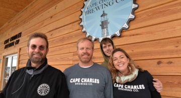 Cape Charles Shining Bright with Brewery