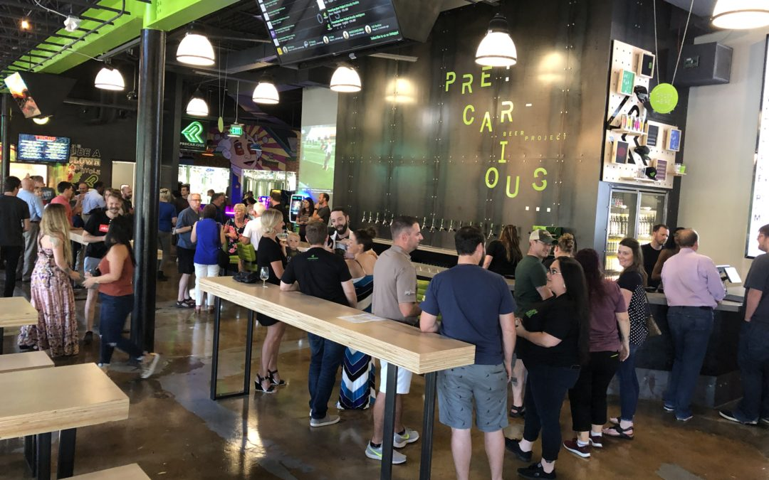 Precarious Beer Hall – Ale, Arcade, and Americana