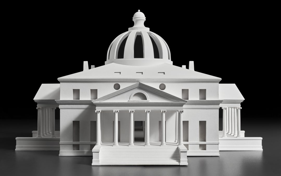Model of Jefferson's President's House design