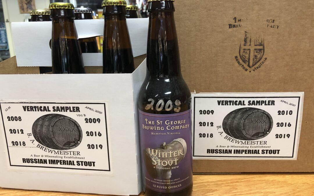 St George Unveils Rare Beers
