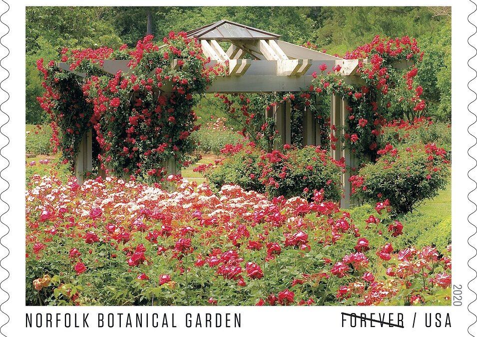 FOREVER STAMP: Norfolk Botanical Garden
